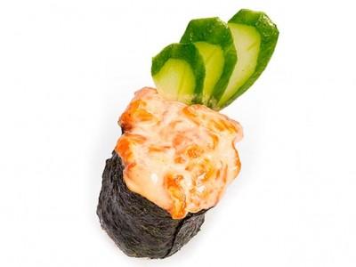 Спайси-суши с тигровой креветкой